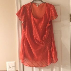 Women's Orange Blouse